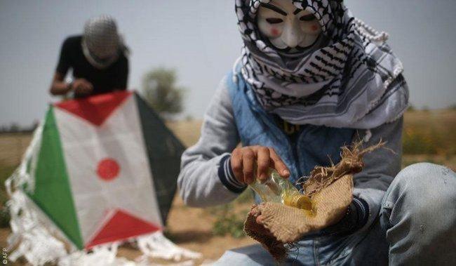 طائرات الاحتلال تستهدف مجموعة شبان جنوب قطاع غزة