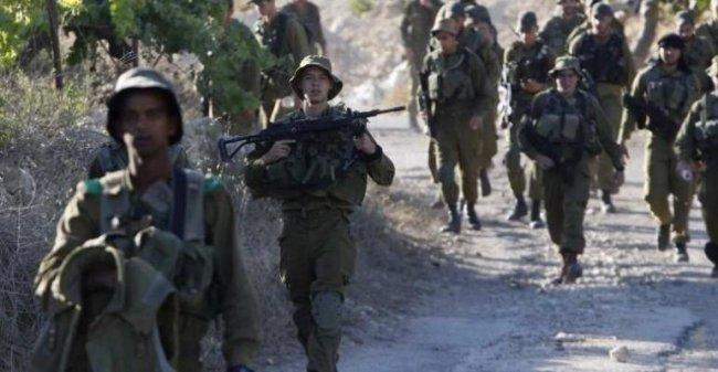 الاحتلال يجري تدريبات عسكرية جنوب نابلس