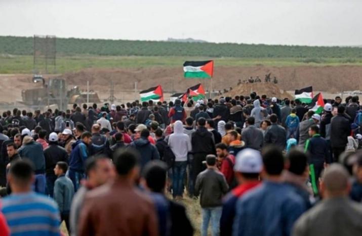 """غزة تستعد لجمعة """"المسيرة مستمرة"""""""