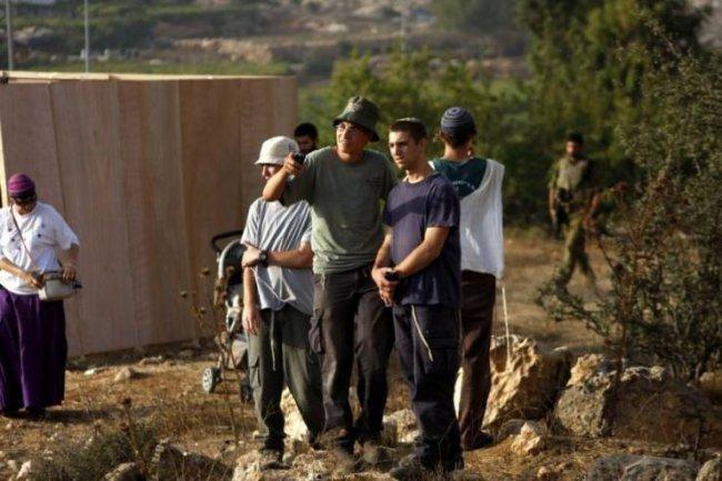اهالي برقة يصدون هجوما للمستوطنين شمال نابلس