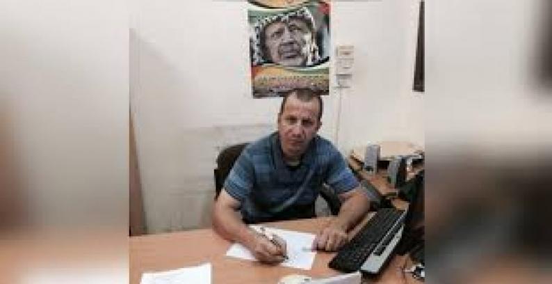 الاحتلال يصدر أمر اعتقال إداري لمدة 6 أشهر بحق أمين سر فتح في أريحا نائل أبو العسل