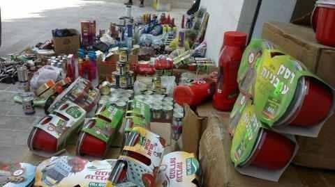 إمهال تجار جنين أسبوعا للتخلص من 8 منتجات إسرائيلية