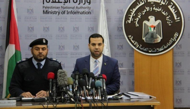 """""""داخلية غزة"""": اعتقلنا المتورطين في إحراق السيارات بغزة"""