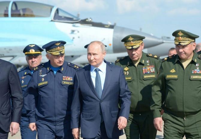 بوتين: أمريكا تخطط لعمليات عسكرية في الفضاء