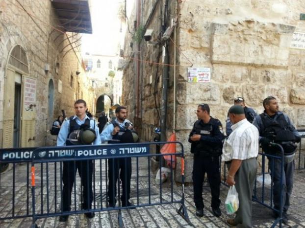 الاحتلال يفرض اغلاقا على القدس لثلاثة أيام