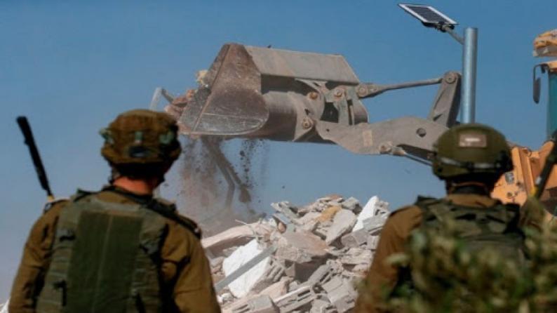 """الاحتلال يشكل هيئة لجمع معلومات استخباراتية """"لرصد البناء الفلسطيني غير المرخص"""""""