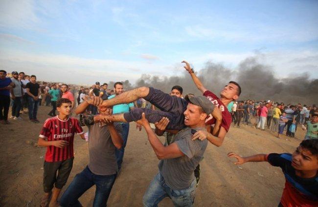 استشهاد رامي قحمان متأثرا باصابته برصاص الاحتلال عصر اليوم شرق رفح