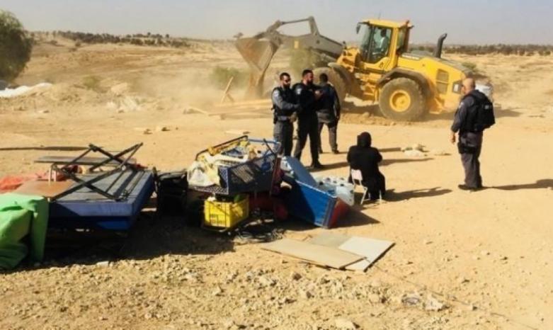 سلطات الاحتلال تهدم قرية العراقيب للمرة 178