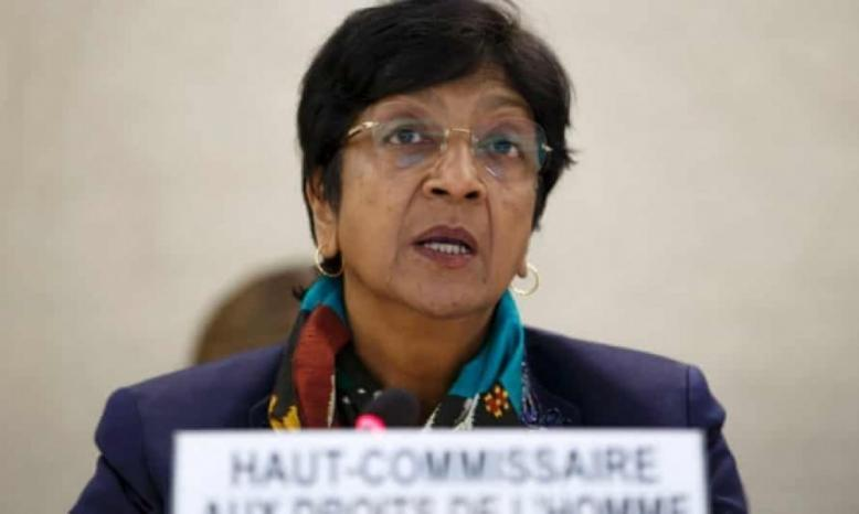 بيلاي ترأس اللجنة الخاصة للتحقيق في جرائم الحرب الإسرائيلية