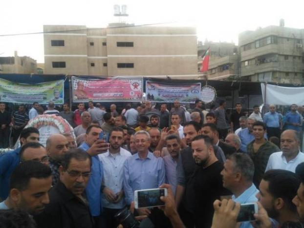 البرغوثي يواصل زيارته لغزة و يؤكد على وحدة شعبنا الفلسطيني ووحدة مصيره الوطني