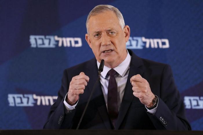 """غانتس: الأغوار يجب أن تبقى بيد """"إسرائيل"""" ولا عودة لحدود 67 ولا لتقسيم القدس"""