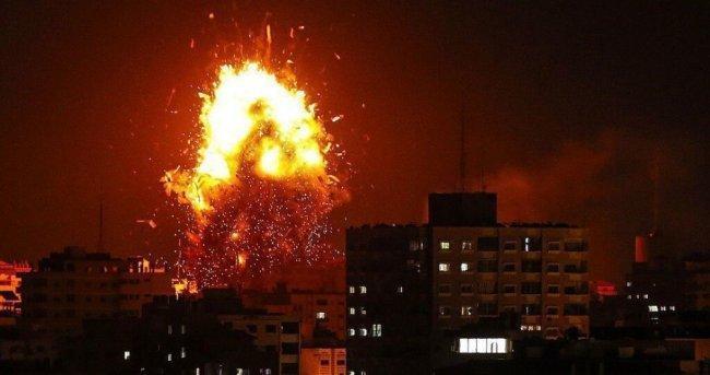 فيديو| الاحتلال يعلن قصف 100 موقع في غزة
