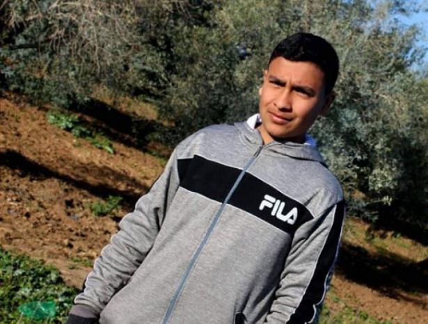 استشهاد الطفل سيف أبو زيد برصاص الاحتلال شرق مدينة غزة فجرا