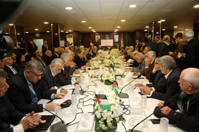 اللجنة التحضيرية تتوافق على عقد مجلس وطني يضم جميع القوى الفلسطينية