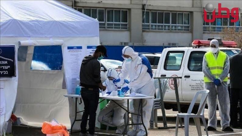تسجيل 1398 إصابة بكورونا في دولة الاحتلال