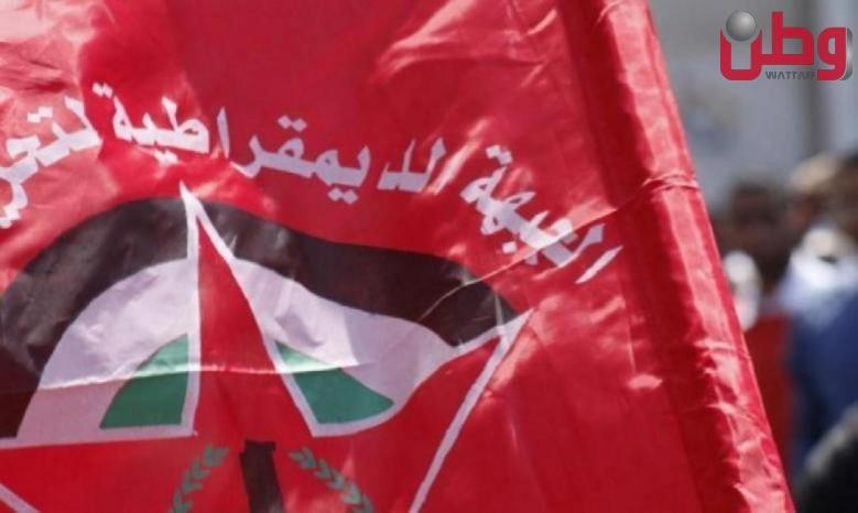 """""""الديمقراطية"""": يخطئ الاحتلال إن ظن أن إعدام الشاب شادي سليم واستمرار جرائمه المنظمة سيخمد فتيل مقاومة شعبنا"""
