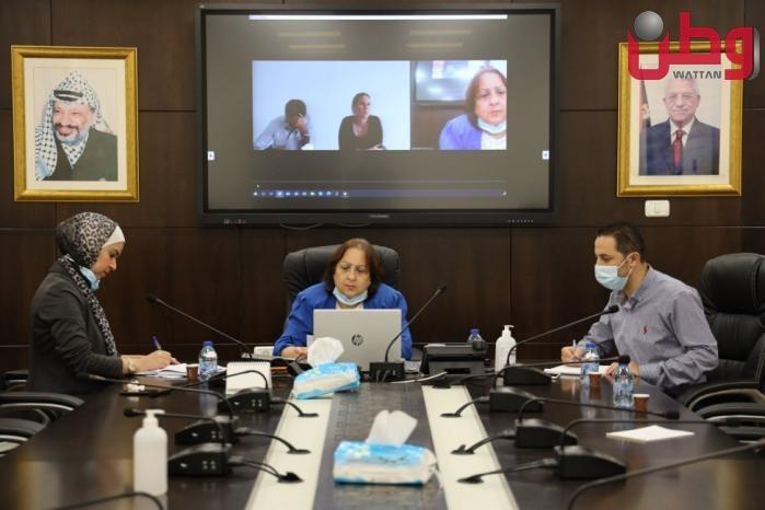 وزيرة الصحة: نطالب بالإشراف على الوضع الصحي للأسرى الأربعة المعاد اعتقالهم ولا نثق بما تقوله سلطات الاحتلال