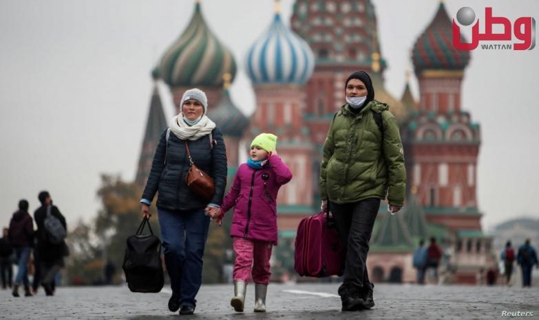 روسيا تسجل 795 حالة وفاة بسبب كورونا في يوم واحد
