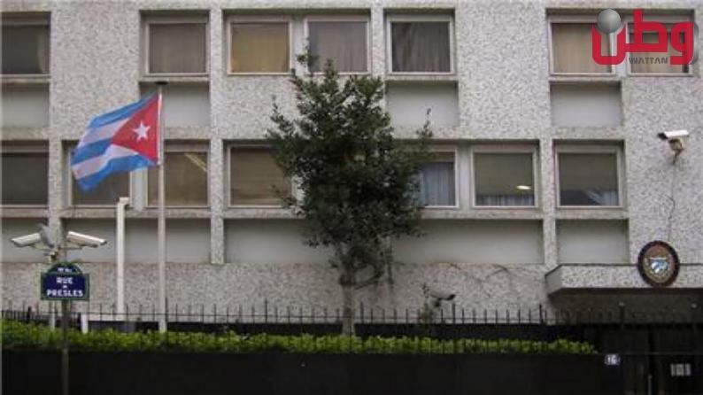"""السفارة الكوبية في باريس تتعرض لهجوم بــ """"المولوتوف"""""""