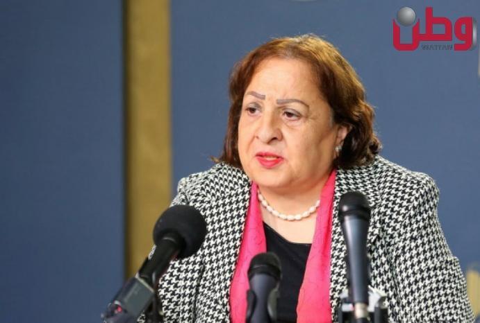 وزيرة الصحة تكشف تفاصيل إتلاف شحنة لقاحات كانت في طريقها لقطاع غزة