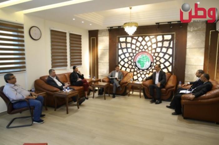 اتحاد المقاولين: الاتحاد الأوروبي متضامن مع حقوق المقاولين وقضايا غزة