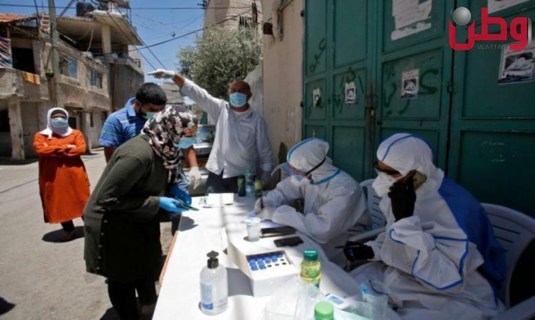 الصحة: تسجيل 17 حالة وفاة و 1977 اصابة جديدة بفايروس كورونا في الضفة وغزة
