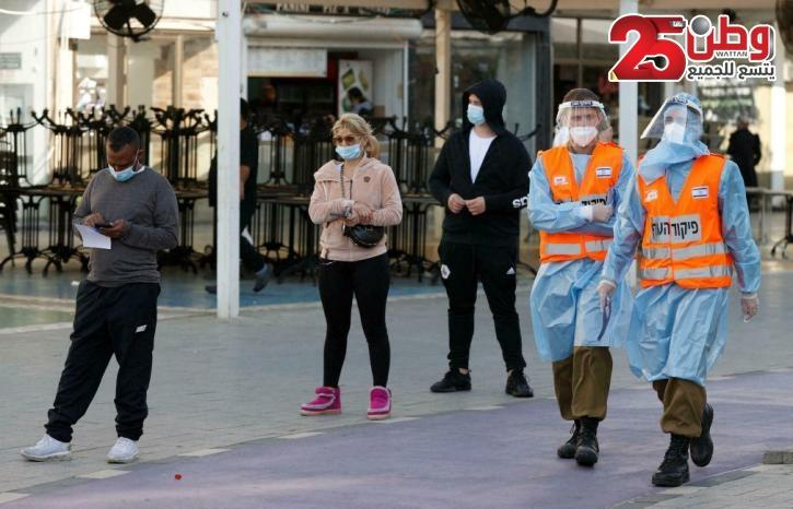 الصحة الإسرائيلية: 751 إصابة خطيرة بفيروس كورونا