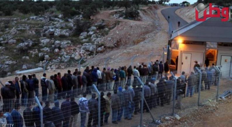 الاحتلال يعلن زيادة عدد العمال الفلسطينيين بمجالي البناء والفندقة في الداخل المحتل