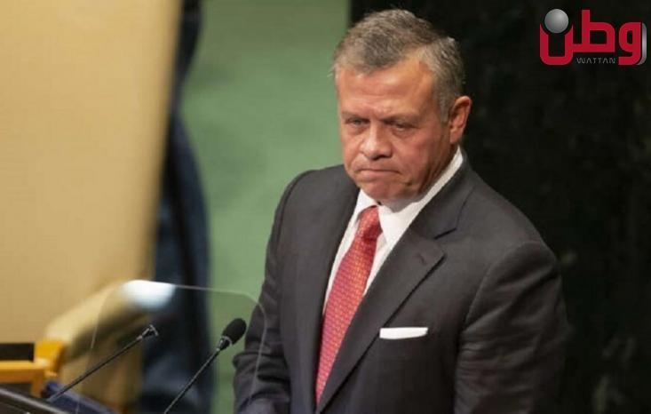 الملك الأردني: لا حل للأزمة الفلسطينية إلا من خلال حل الدولتين