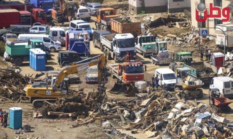 تقديرات خسائر ألمانيا ب 5 مليارات يورو جراء الفيضانات
