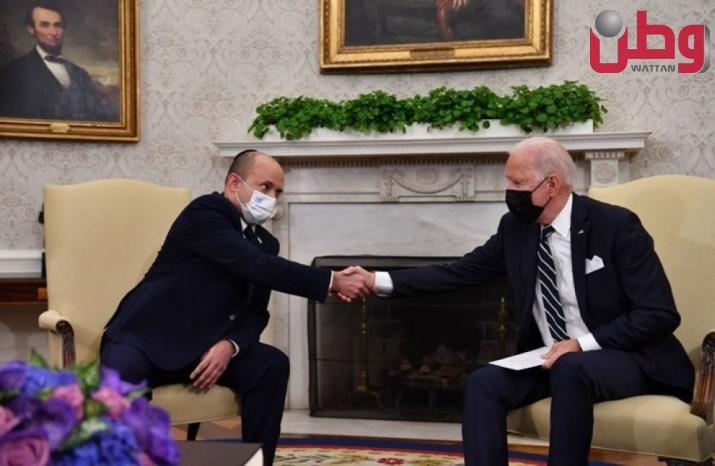 """صحيفة إسرائيلية تقلل من أهمية لقاء بايدن مع """"بينت"""""""