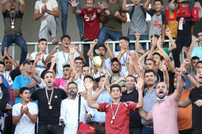 شباب رفح يتوج بكأس دوري الناشئين مواليد 2006