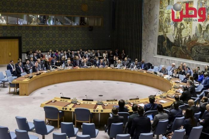 مجلس الأمن يجتمع الأربعاء لبحث انتهاكات الاحتلال واعتداءات مستوطنيه
