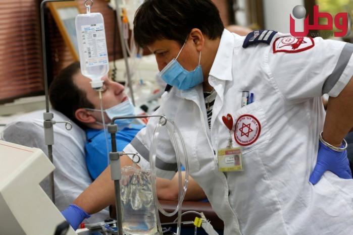 الصحة الإسرائيلية: 8 وفيات بكورونا و3,707 إصابات جديدة