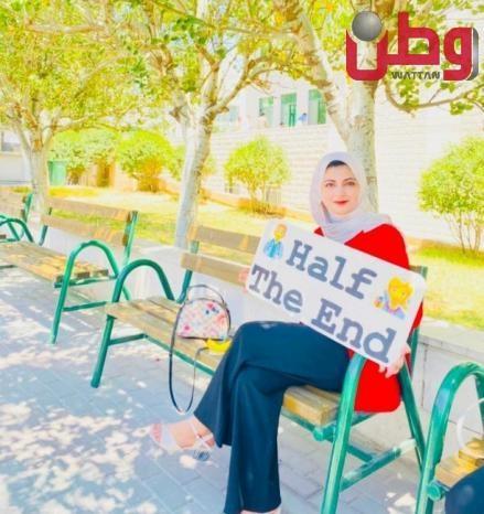 طالبة فلسطينية تنافس في النصف النهائي لمسابقة التحدي الطبي العالمي