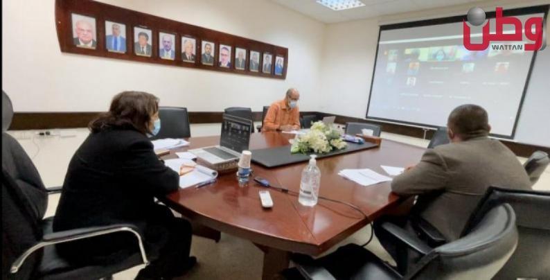 لجنة الوبائيات الوطنية تبحث الوضع الوبائي في فلسطين