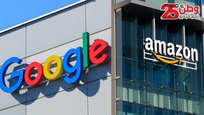 """400 موظف في """"أمازون"""" و""""جوجل"""" يطالبون شركتيهما بمقاطعة """"إسرائيل"""""""