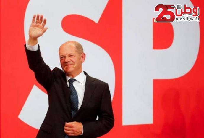 الاشتراكيون الديمقراطيون الألمان ينالون الانتخابات التشريعية بنسبة 25 بالمئة