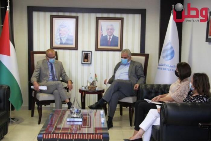الوزير غنيم يلتقي مدير التعاون في الاتحاد الأوروبي