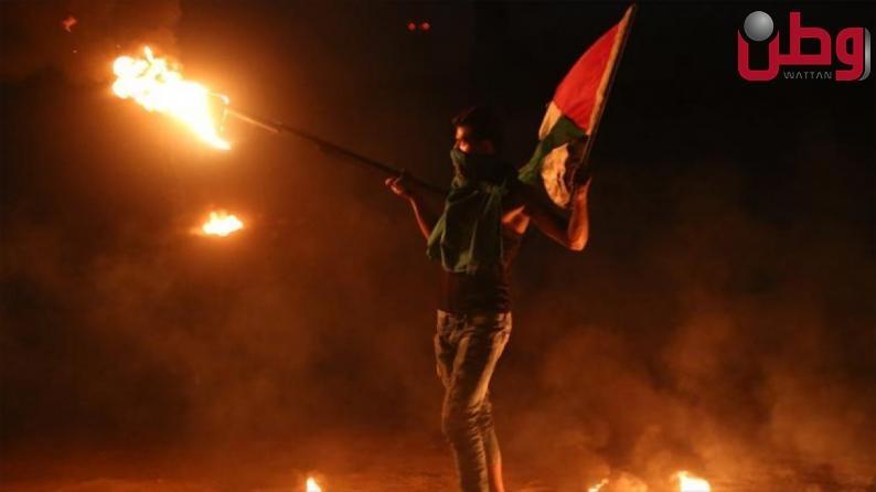 إصابة 8 مواطنين بالرصاص المعدني والعشرات بالاختناق خلال مواجهات مع الاحتلال في بيتا