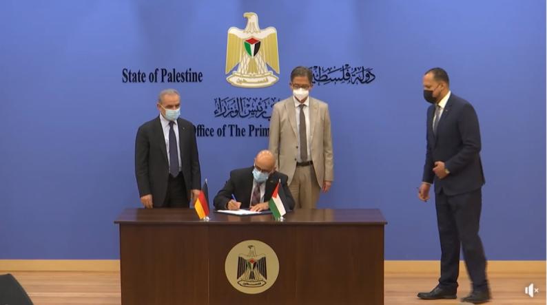 المانيا تتعهد بتقديم أكثر من 100 مليون يورو دعما لفلسطين