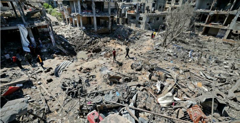 نائب غانتس: إعمار غزة مشروط بإنجاز تقدم في قضية الأسرى