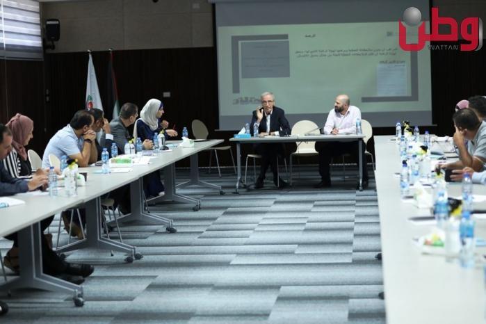 لجنة الانتخابات تلتقي مع ممثلي هيئات الرقابة المحلية