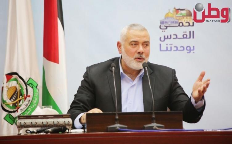 هنية: مواجهات بيتا تؤكد رفض الشعب الفلسطيني القبول بشرعية المحتل على هذه الأرض