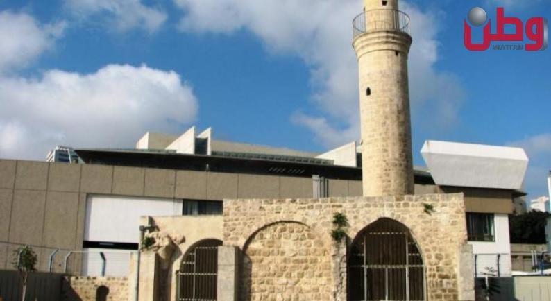 مخطط تهويدي لمسجد تاريخي في حيفا المحتلة