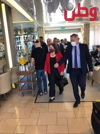 وزيرة الصحة مي كيلة تجتمع بوزير صحة الاحتلال في القدس