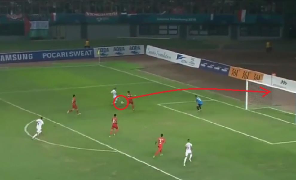 فيديو.. المنتخب الوطني يتغلب على إندونيسيا في دورة الألعاب الآسيوية