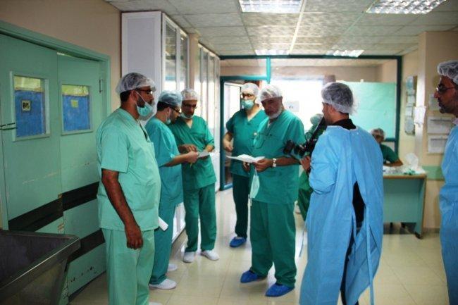 صحة غزة تعلن تنفيذ خط  ب  لإدارة أزمة الوقود -