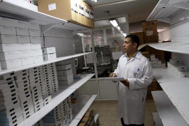 وزارة الصحة تحذر بان نصف مرضى قطاع غزة بلا دواء - وكالة وطن للأنباء