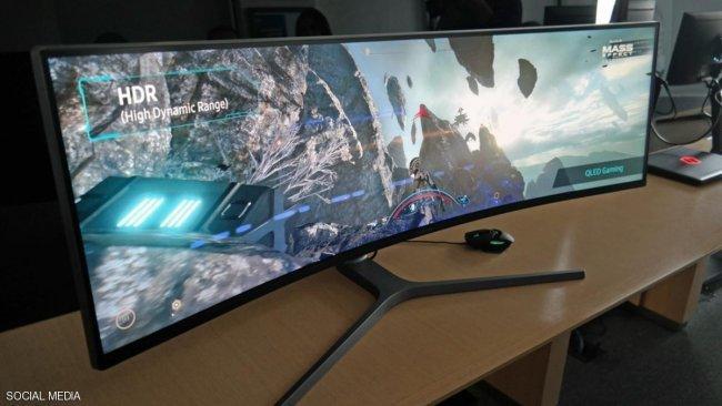 شاشة كمبيوتر بمواصفات غير مسبوقة من سامسونج